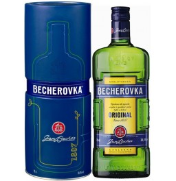 "Ликер ""Becherovka"", metal box, 0.7 л"