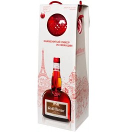 "Ликер Grand Marnier, ""Сordon Rouge"", gift box with glass, 0.7 л"
