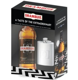 Ликер Drambuie, gift set with flask, 0.7 л