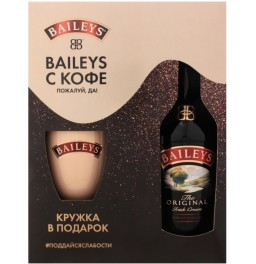 "Ликер ""Baileys"" Original, gift box with cup, 0.7 л"